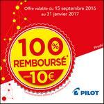 Offre de Remboursement Pilot : Roller Encre Liquide 100% Remboursé - anti-crise.fr