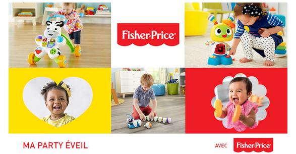 Test de Produit My Home Party : Fisher-Price - anti-crise.fr