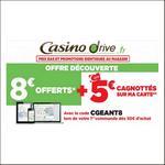 Bon Plan Géant Casino Drive : 8€ Offerts + 5€ Cagnottés - anti-crise.fr