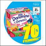 Bon Plan Danone : Danonino de Gervais à 0,11€ le pack de 18 chez Auchan - anti-crise.fr