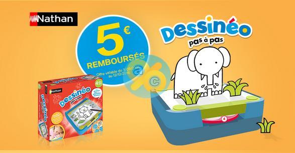 Offre de Remboursement Nathan : 5€ sur un Jeu Dessinéo - anti-crise.fr