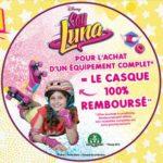 Offre de Remboursement Soy Luna : 1 Casque de protection 100% Remboursé - anti-crise.fr