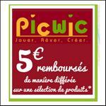 Offre de Remboursement Smoby : 5€ sur Un Produit PicWic - anti-crise.fr