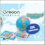 Offre de Remboursement Oregon Diset : Jusqu'à 20€ pour l'achat d'un Smartglobe - anti-crise.fr