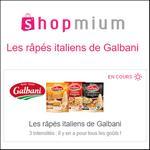 Offre de Remboursement Shopmium : Jusqu'à 40% sur Les Râpés Italiens Galbani - anti-crise.fr
