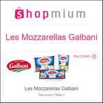 Offre de Remboursement Shopmium : Jusqu'à 40% sur Les Mozzarellas Galbani - anti-crise.fr