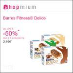 Offre de Remboursement Shopmium : Jusqu'à 50% sur les Barres Fitness® Delice - anti-crise.fr