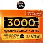 Bon Plan Dolce Gusto : 10 Boîtes de Capsules Achetées = 1 Machine OBLO Offerte - anti-crise.fr