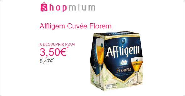 Offre de Remboursement Shopmium : Affligem Cuvée Florem à Découvrir pour 3,50€ - anti-crise.fr