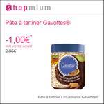 Offre de Remboursement Shopmium : 1€ sur La Pâte à tartiner Gavottes® - anti-crise.fr