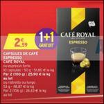 Très Bon Plan Café Royal chez Intermarché - anti-crise.fr