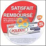 Offre de Remboursement Polident : Votre Produit Fixatif Satisfait ET 100% Remboursé - anti-crise.fr