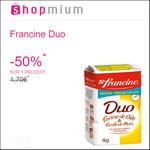 Offre de Remboursement Shopmium : 50% sur la Farine Francine Duo - anti-crise.fr