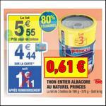Bon Plan Thon Princes chez Carrefour Market - anti-crise.fr
