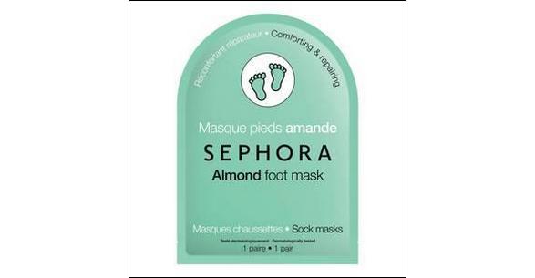 Tests de Produits : Masques pieds Amande - Sephora - anti-crise.fr