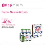 Offre de Remboursement Shopmium : Jusqu'à 40% sur La Bière Peroni Nastro Azzurro - anti-crise.fr