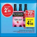 Bon Plan Cidre Ecusson chez Carrefour Market - anti-crise.fr