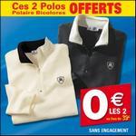 Bon Plan L'Homme Moderne : 2 Polos Polaire à 2€ au lieu de 41€ - anti-crise.fr