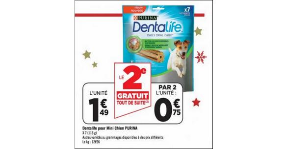 Bon Plan Dentalife Purina chez Géant Casino - anti-crise.fr