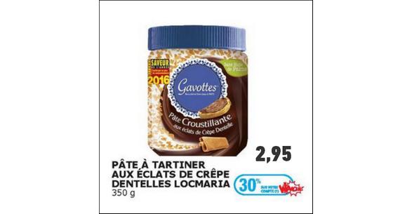 Bon Plan Pâte à Tartiner Gavottes chez Auchan - anti-crise.fr