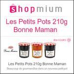 Offre de Remboursement Shopmium : 1€ sur Les Petits Pots 210g Bonne Maman - anti-crise.fr