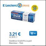 Bon Plan Dentifrice Oral-B chez Leclerc - anti-crise.fr