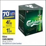 Bon Plan Bière Carlsberg chez Carrefour - anti-crise.fr