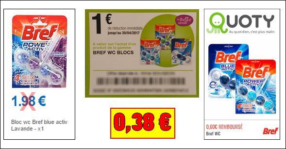Bon Plan Bref : Bloc WC à moins de 0,50€ Partout - anti-crise.fr