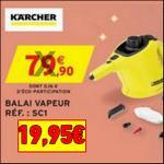 Bon Plan Karcher : Balai Vapeur à 19,95€ chez Intermarché - anti-crise.fr