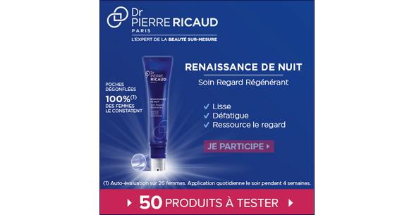 Test de Produit Beauté Test : Soin Regard Régénérant - Renaissance de Nuit de Dr Pierre Ricaud - anti-crise.fr