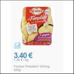 Bon Plan Fondue 3 Fromages Président chez Leclerc - anti-crise.fr