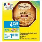 Bon Plan Fromage pour Tartiflette RichesMonts chez Cora - nti-crise.fr