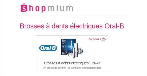 Offre de Remboursement Shopmium : 3 Offres sur les Brosses à dents électriques Oral-B - anti-crise.fr