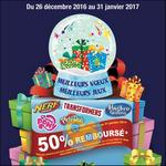 Offre de Remboursement Play doh, Hasbro gaming, Transformers, My Little Pony et Nerf : 50% Remboursé - anti-crise.fr