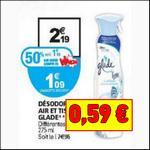Bon Plan Glade : Désodorisant Air et Tissus à 0,59€ chez Auchan - anti-crise.fr
