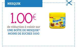 Nesquik Moins de Sucre - anti-crise.fr