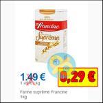 Bon Plan Francine : Farine Suprême à moins de 0,40€ Partout - anti-crise.fr