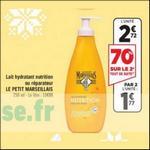 Bon Plan Lait Hydratant Le Petit Marseillais chez Géant Casino - anti-crise.fr