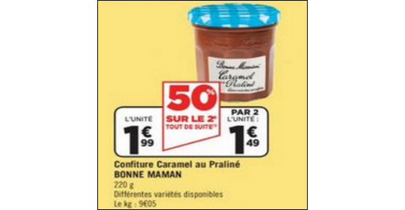 Bon Plan Caramels Bonne Maman chez Géant Casino - anti-crise.fr