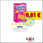 Bon Plan Belin : Crackers Best of à 0,01€ - anti-crise.fr
