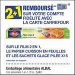 Bon Plan Film 2 en 1 Albal chez Carrefour - anti-crise.fr