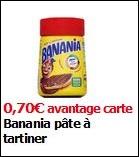 Bon Plan Pâte à Tartiner Banania chez Intermarché - anti-crise.fr