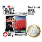 Bon Plan Steak Haché Charal chez Cora - anti-crise.fr