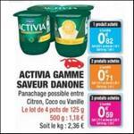 Bon Plan Yaourts Activia Saveur chez Carrefour Market - anti-crise.fr