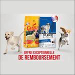 Offre de Remboursement Canicaf : Croquettes Pure Origine 100 % Remboursé - anti-crise.fr
