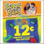 Offre de Remboursement Goliath : 12€ Remboursés sur Super Sand Castle - anti-crise.fr