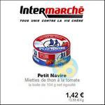 Bon Plan Petit Navire : Miettes de Thon à la Tomate à 0,42€ chez Intermarché - anti-crise.fr