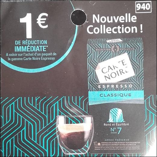 bon de reduction carte noir Bon Plan Capsules de Café Carte Noire chez Leclerc   Catalogues