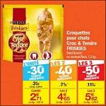 Bon Plan Friskies : Croquettes Croc & Tendre pour Chats chez Carrefour - anti-crise.fr