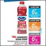 Bon Plan Ocean Spray chez Carrefour Market - anti-crise.fr